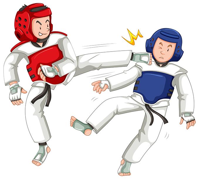 Cascos taekwondo