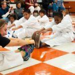 taekwondo para niños estiramientos