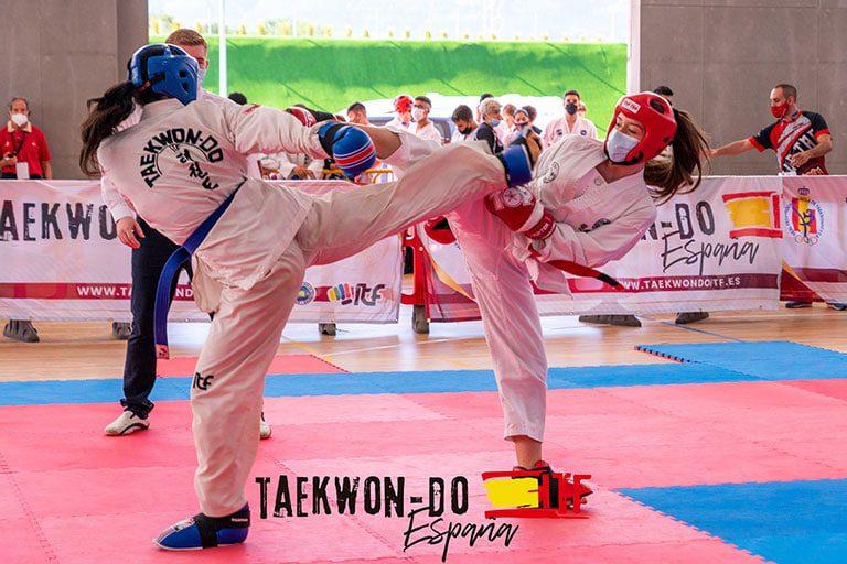 Copa de españa de taekwondo itf 2021