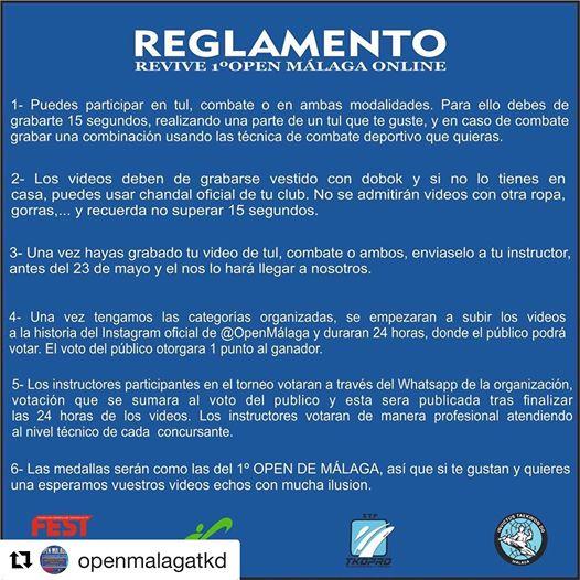 Reglamento del campeonato Open Malaga Online