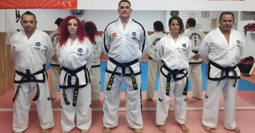 Intructores Escuela Taekwon-DO ITF Torremolinos IN-NAE