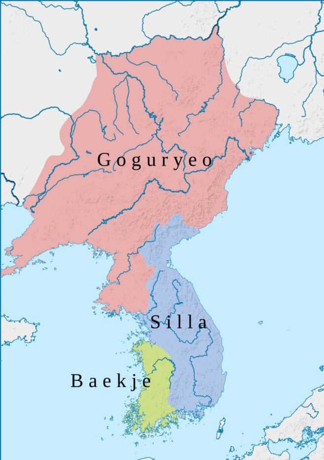 Goguryeo, Silla y Baekje - Historia del taekwondo