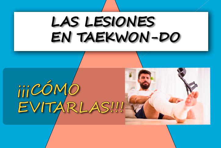 lesiones en taekwondo