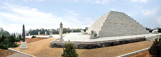 mausoleo del emperador dangun fundador de corea