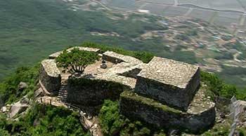 Vista aérea del Monte Manisan